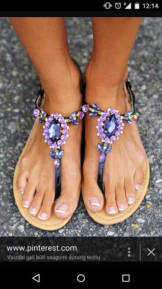 shoes purple summer sparkle bling legs fingers summer shoes fashion pretty woman nail france