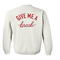 Give me a break back sweatshirt - basic tees shop