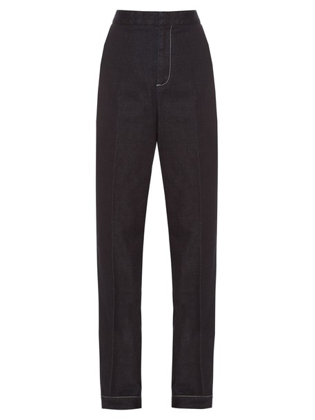 Stella McCartney denim dark pants