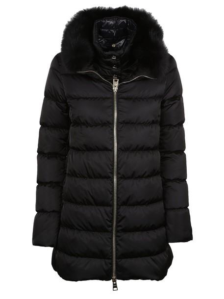 Herno jacket fur black