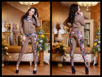 pants floral