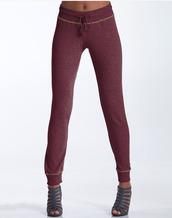 pants,burgundy,sweatpants,grey,cotton