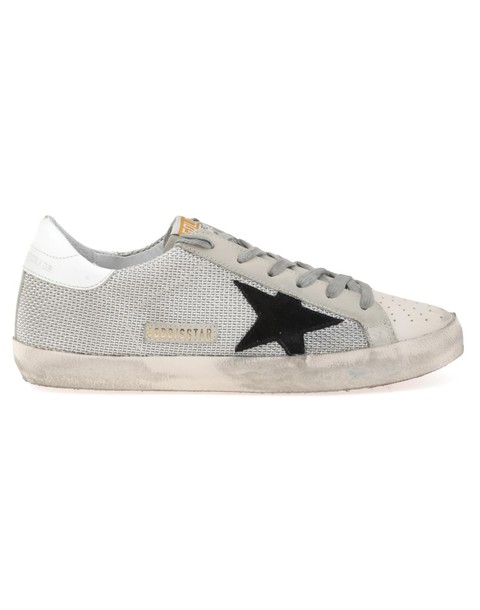 Golden goose grey shoes