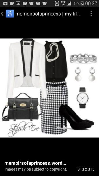 skirt skirt top blazer shoes accessories