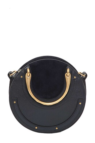 bag leather suede