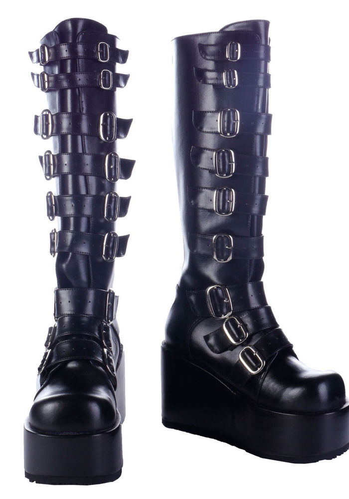 be384b1a0d3 Demonia CONCORD-108 4 1 4 Inch Knee Boot Women S Size Shoe ...