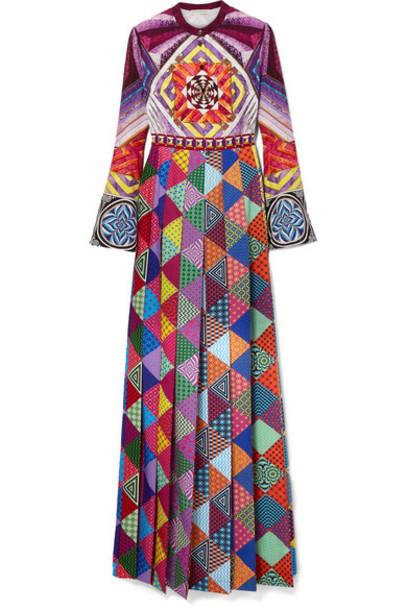 MARY KATRANTZOU dress maxi dress maxi purple