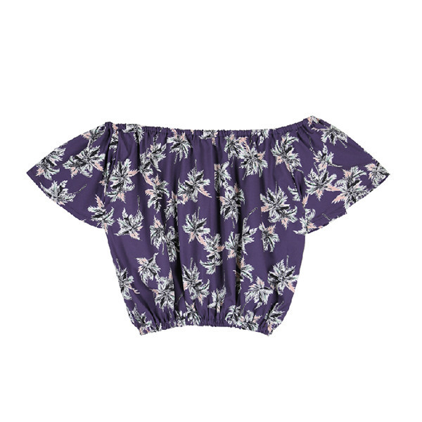 Off the shoulders crop top (2 colours)