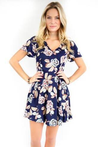 dress amazing lace floral dress navy floral dress fall floral dress