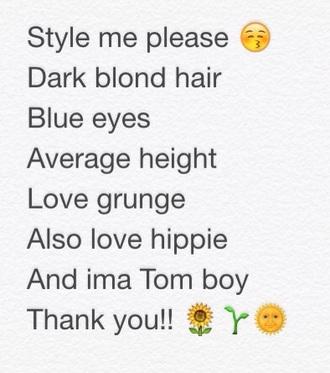 tank top grunge hippie tomboy style me