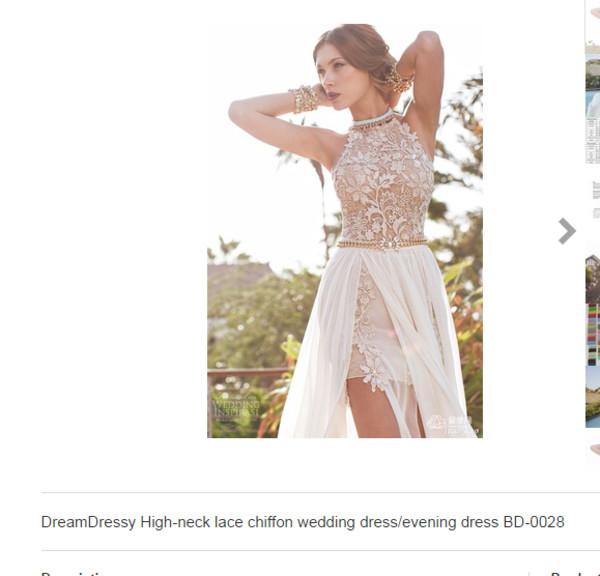 wedding dress evening dress prom dress