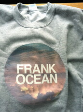 sweater,grey crew neck,love him,frank ocean,sweater weather,gay pride,music