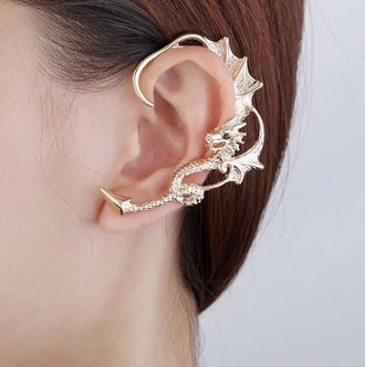 jewels accessories dragons ear cuff earrings diamonds