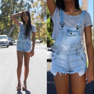 romper overalls