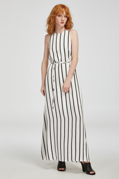 Finders Keepers dress maxi dress maxi white print