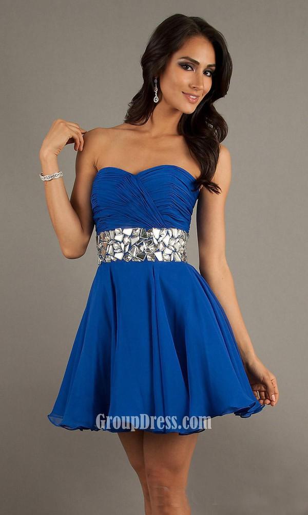 Short Cheap Prom Dresses - Qi Dress