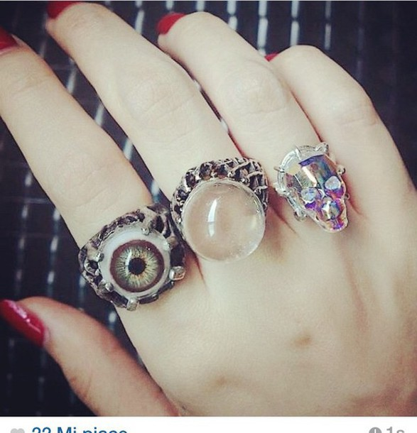 jewels jewellary ring accessories necklace eyes cool fashion tumblr outfit