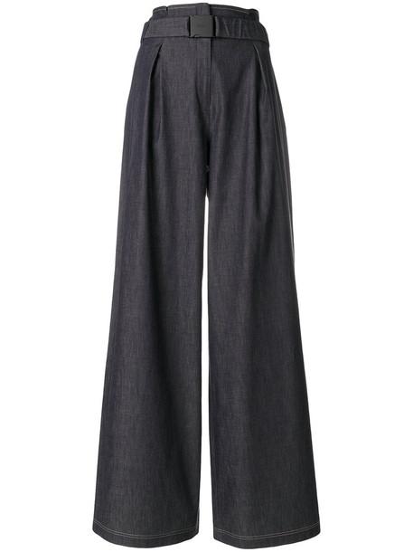 No21 women spandex cotton blue pants
