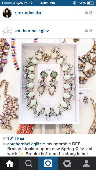 jewels big necklace statementnecklace boutique