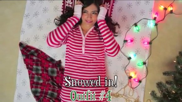 pajamas nordstrom red and white stripes