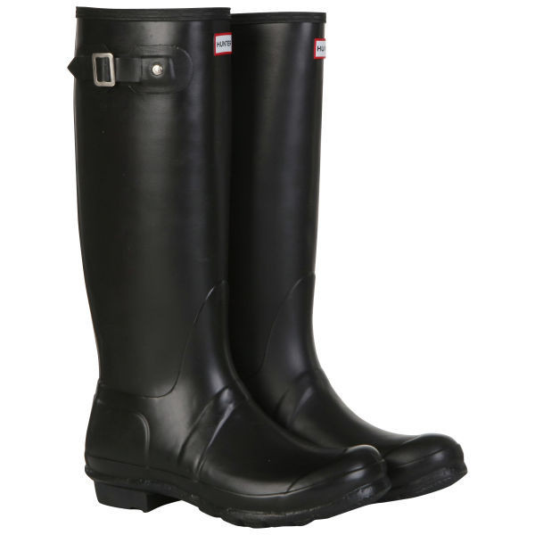 Hunter Unisex Original Tall Wellies - Black - Polyvore