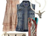 country dance outfit on Pinterest