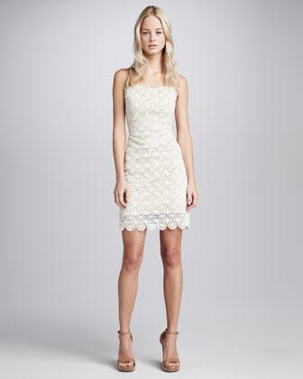 Beyond Vintage Venetian Lace Sheath Dress - Neiman Marcus