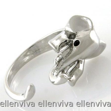 Unique Cute Elephant Animal Ring Size 8-9 #rg006ch8 | eBay