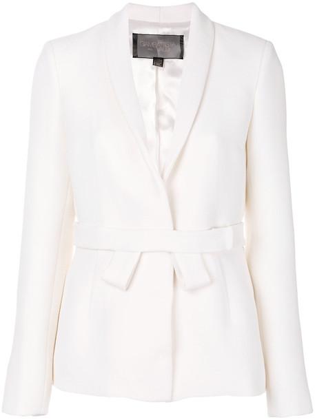 GIAMBATTISTA VALLI blazer women white wool jacket