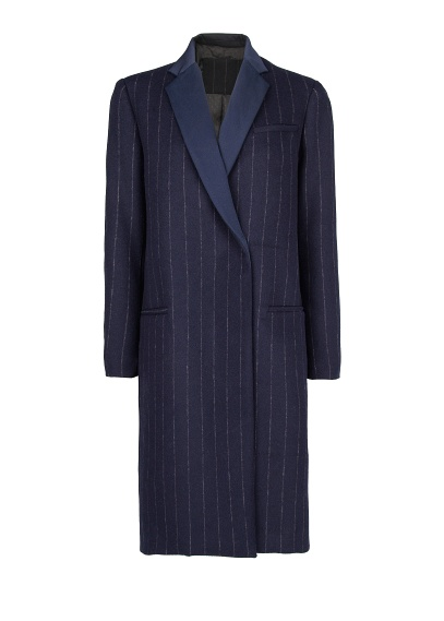 MANGO - CLOTHING - Coats - Pinstripe wool-blend coat