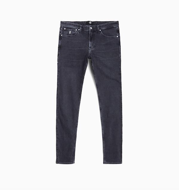 CK50 Black Slim Tapered Jeans