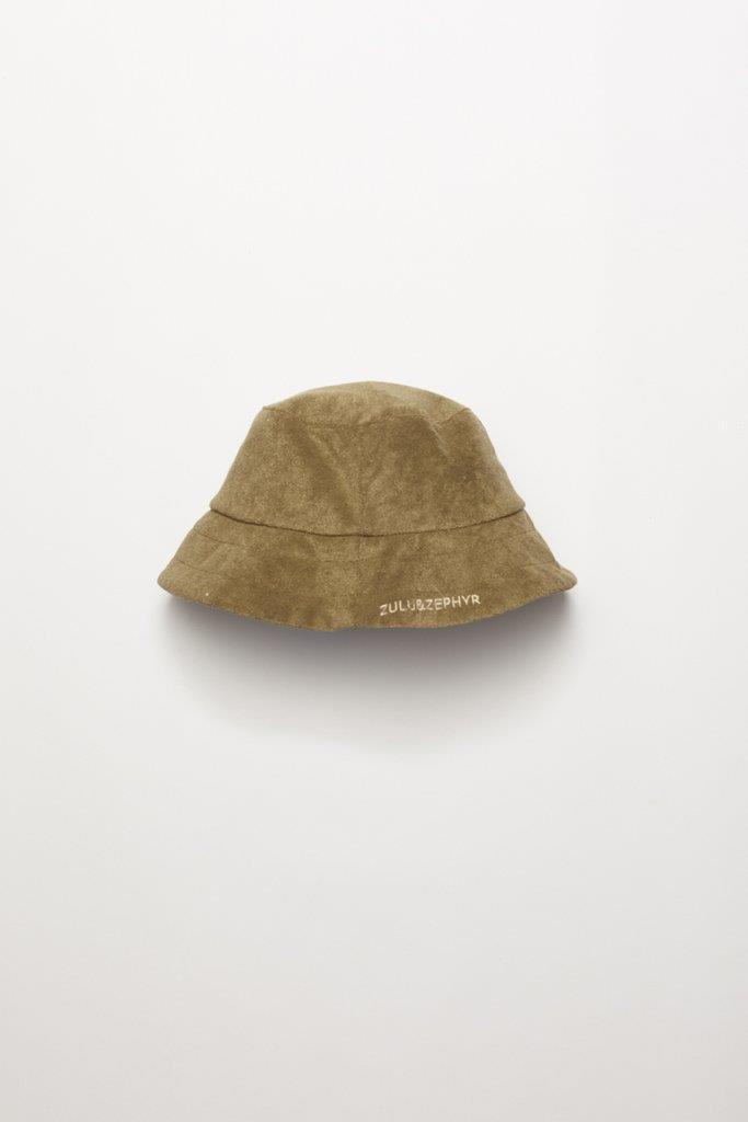Towelling Hat - Khaki