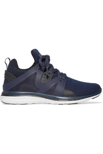 APL Athletic Propulsion Labs mesh sneakers blue shoes