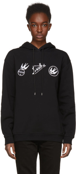 McQ Alexander McQueen hoodie skater black sweater