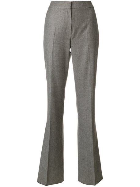 women wool brown pants
