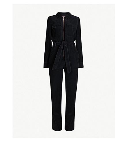 TOPSHOP Long-sleeved corduroy jumpsuit