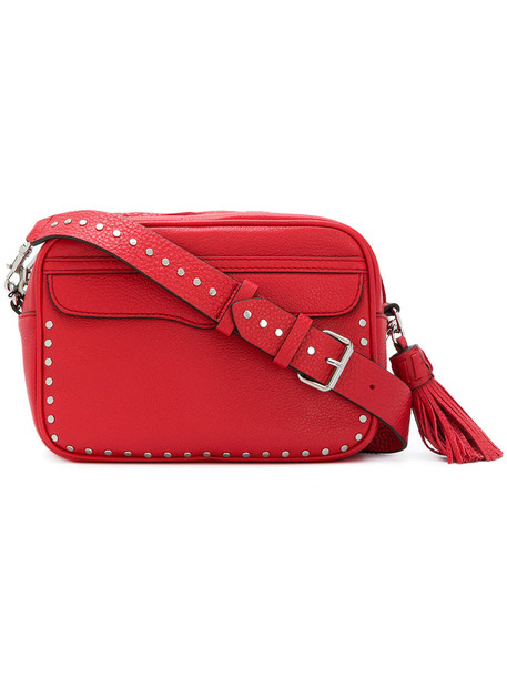 Rebecca Minkoff women bag crossbody bag leather red