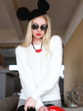 hat,beret,mickey mouse