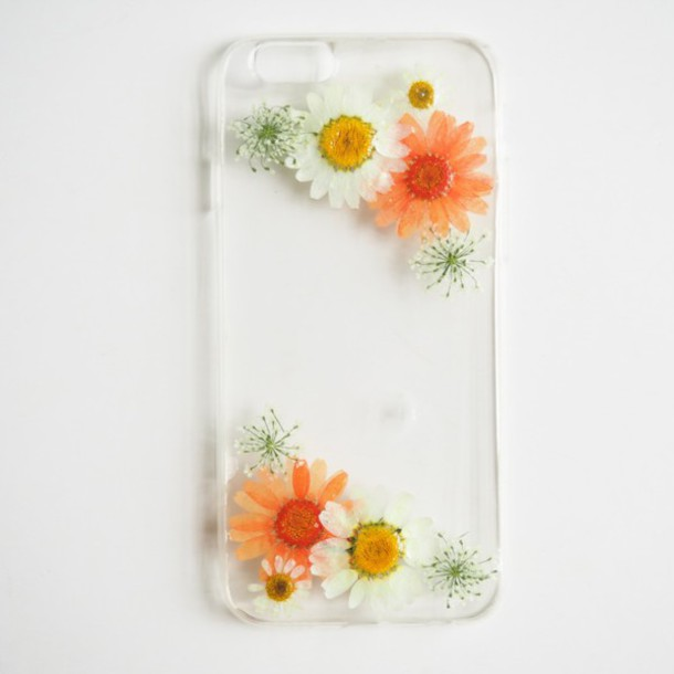 Phone Cover Summer Summer Handcraft Daisy Iphone Cover Flowers