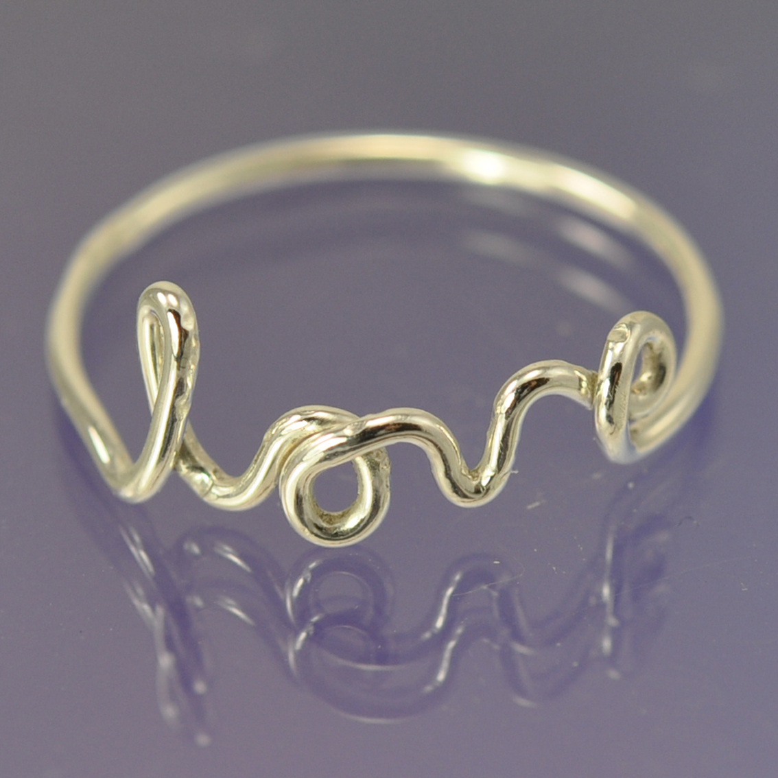 Love ring. Silver | Chris Parry - Handmade Jewellery - Designer / Maker