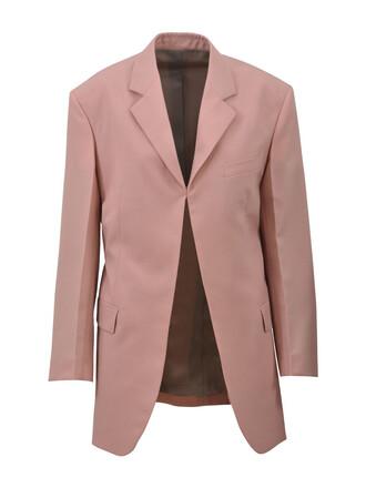 jacket long pink