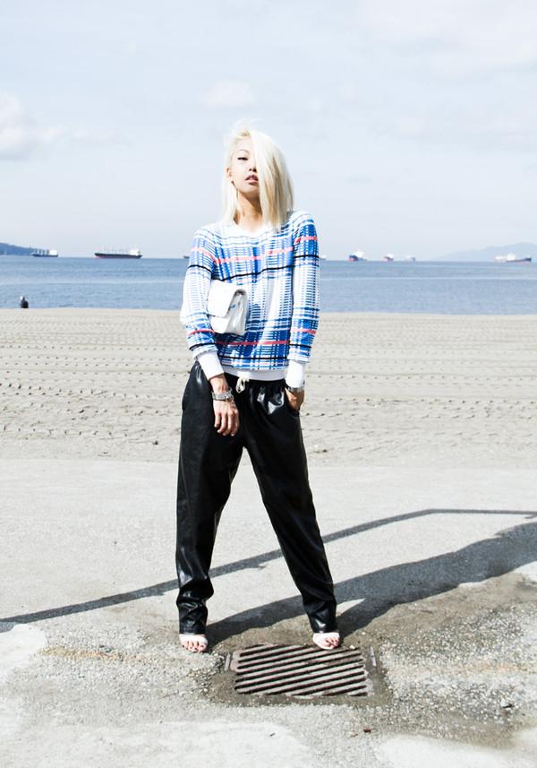 the haute pursuit sweater bag pants shoes jewels