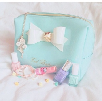 bag torquise makeup bag ted baker