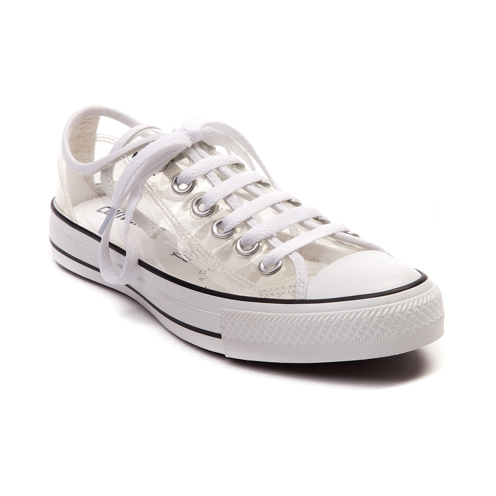 converse chuck taylor all star clear low top