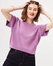sweater,purple sweater