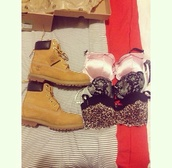 shoes,brown,boots,combat boots,winter boots,biege,biege color,boot,bra,fashion,footwear,clothes,yellow