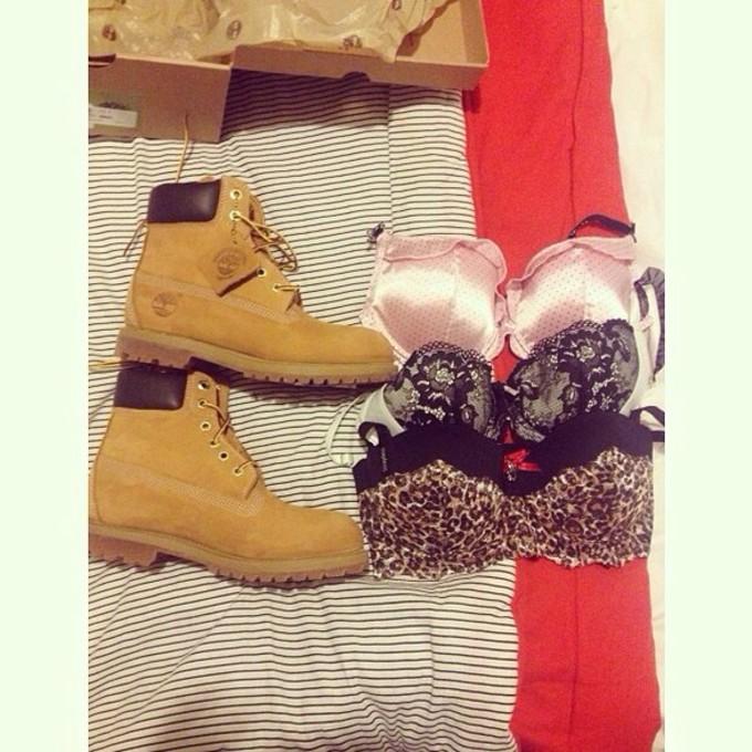 shoes brown boots work combat boots winter boots biege biege color bra shoe fashion footwear clothes yellow bra color