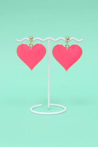 Womens Yuliana Heart Earring Set | Pop Couture