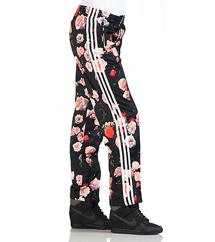 ORIGINAL FIREBIRD TRACK PANT - Black - adidas