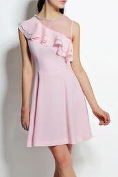 dress,dezzal,pink,pastel,fashion,girly,vintage,bodycon dress,mini dress